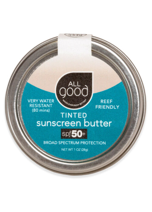 An image of All Good's Tinted Sunscreen Butter, 1 oz