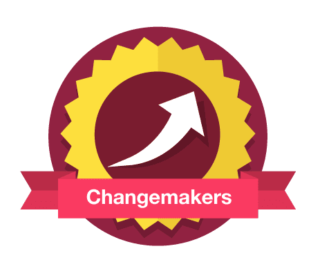 Changemakers crest on transparent background