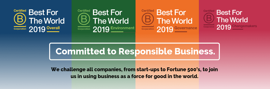 B Corp nominate Best for the World 2019 All Good header
